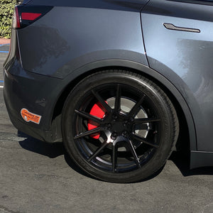 Model Y Flat Caliper Covers - with Jack Puck $179