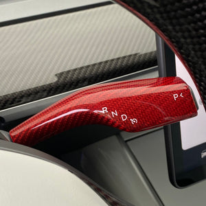 Model 3 & Y Carbon Fiber Molded Stalk Covers  - $75 with 20% Off