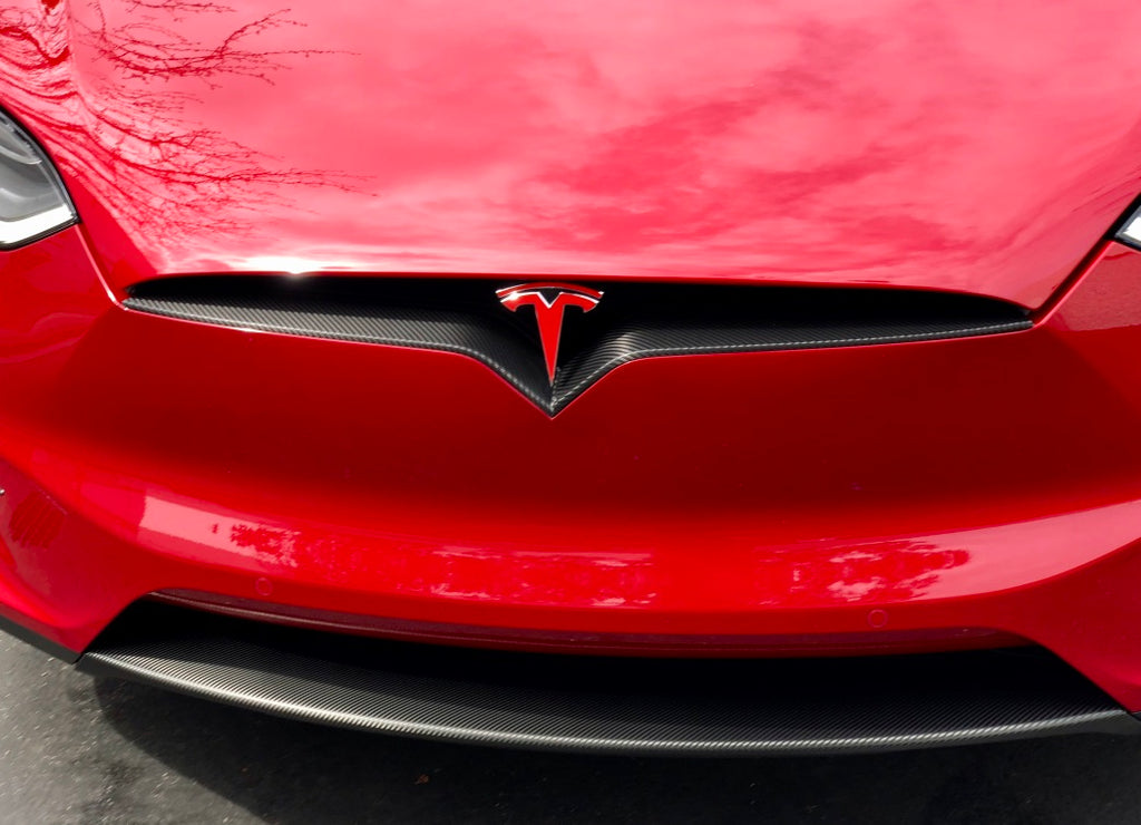 Model X Nose Inlay Wrap -Many Colors & Materials