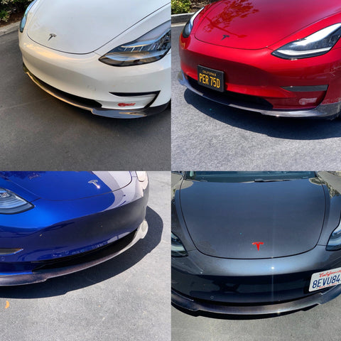 Model 3 Jupiter U-Style ABS Spoiler Glossy Black or Glossy CF Coated, Only $189
