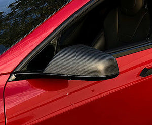 Model S Carbon Fiber Mirror Caps Gen. 2 ($139 with 20% Off)