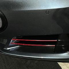 B-Pillar Accent Wrap Decals - Pre Autopilot 2 Only