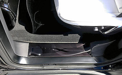 Model X Rear Door Sill Protectors, Xpel 1 Pair