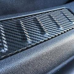 Trunk Sill Inserts- Vinyl Wrap (1 Pair)