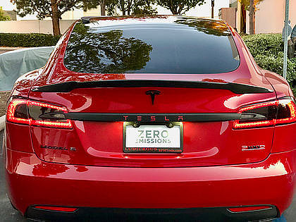 Model S Jupiter Carbon Fiber Spoiler ($249 w/ 20% OFF)