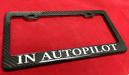 Personalized Carbon Fiber License Plate Frame - $39 with 20% Off