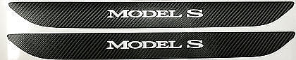 Model S Front Door Sill Skin Wraps Carbon Fiber - 1 Pair ($26 with 20% off)