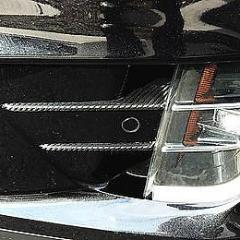 Model X Under Headlight Chrome Inlay Wrap (1 Pair)
