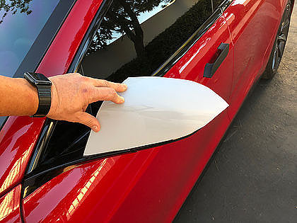 Side Mirror 3M Clear Bra Protection - Set of 2