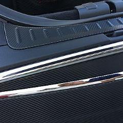 Old Style Frunk Sill Inserts Carbon Fiber (1 Pair)