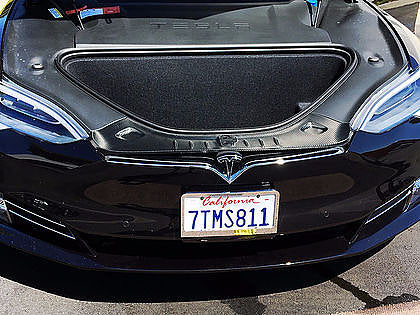 Frunk Sill Wrap - For Refreshed Model S