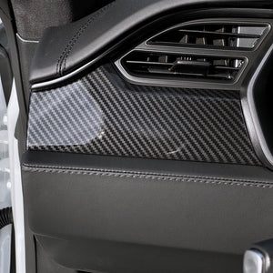 Model S & X Dashboard & Center Console Carbon Fiber Look Upgrade Kit  - $279