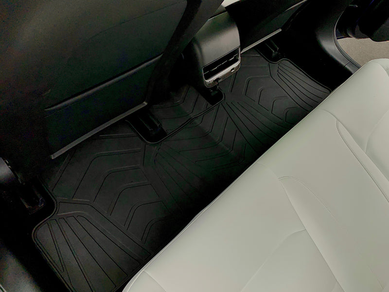 Model S All-Weather Floor Mats 3 Pieces (2 Front Seat & 1 Back Seat )