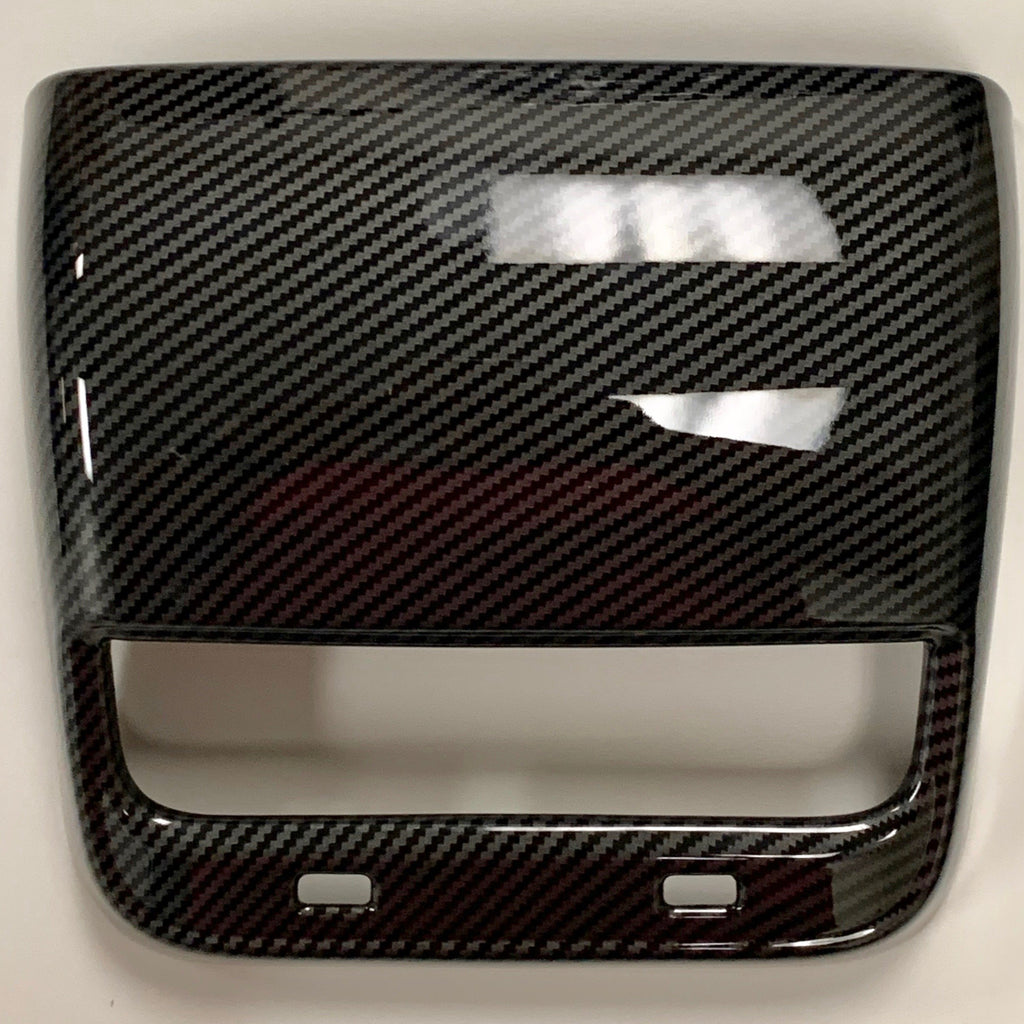 Model 3 Backseat Vent/USB Cover - Carbon Fiber Coated (Only $39 w/ 20% OFF)