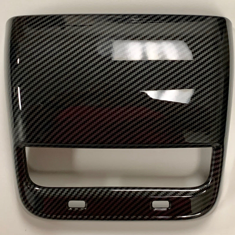 Model 3 & Y Backseat Vent Cover - Carbon Fiber Coated $39 or Dry Molded Carbon $149