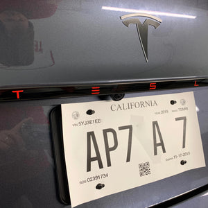 Model 3 Aluminum Tailgate Applique' - From $59 with 20% Off