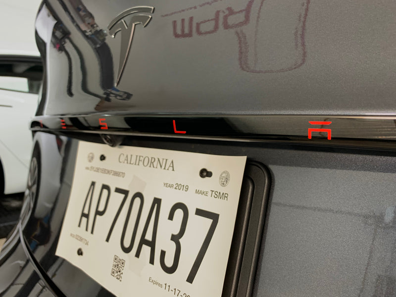 Model 3 Aluminum Tailgate Applique From 59 With 20 Off