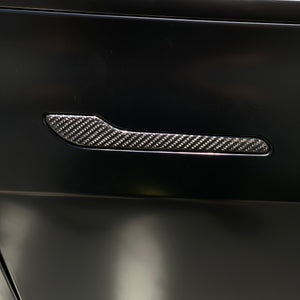Model 3 Carbon Fiber Molded Door Handle Caps $119