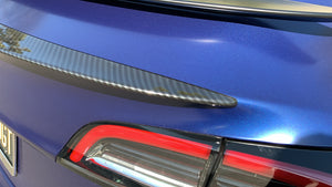 Model 3 Performance Spoiler ABS Plastic -Carbon Fiber Coated, Only $129