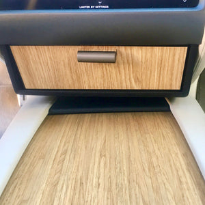 Model S & X Cubby Drawer Oak Wood Decor $52 (with 20% off)