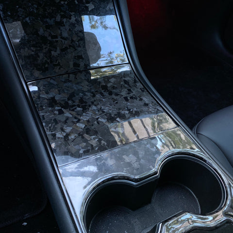 Model 3 & Y Dashboard Cap ABS - White Pearl Painted $129