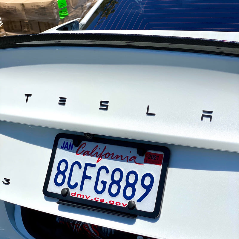 T-E-S-L-A Tailgate Letter Emblems for Model 3 & Y - $24 with 20% Off