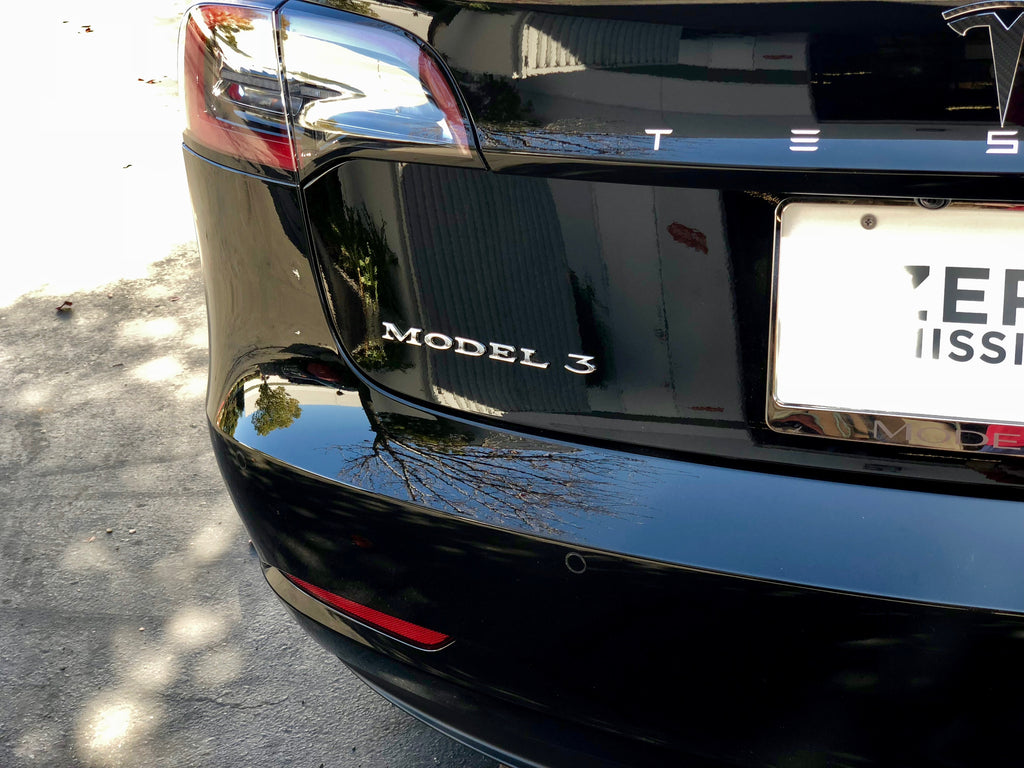 Model 3 Emblem (Badges) $29 w/ 20% Off