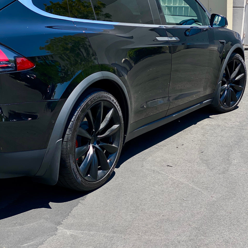 Model X Mud Flaps Screwless - $49 Shipped 2nd Day Air FedEx
