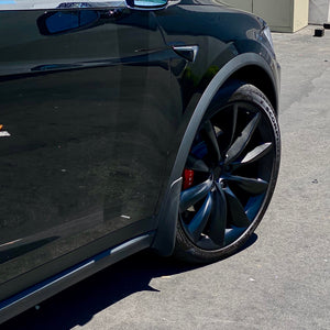 Model X Mud Flaps Screwless & Self Tapping  (Set of 4- $39 with 20% Off)