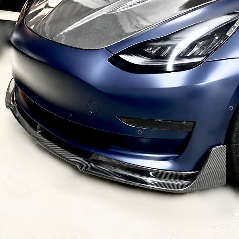 Model 3 Viento Aero Carbon Fiber Rear Diffuser - $ 699 Installed