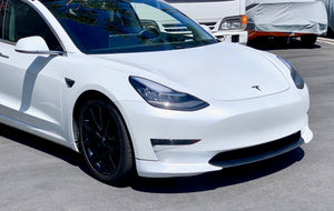 Model 3 Carbon Fiber Front Lip Spoiler - Gen. 2 -$399 Installed
