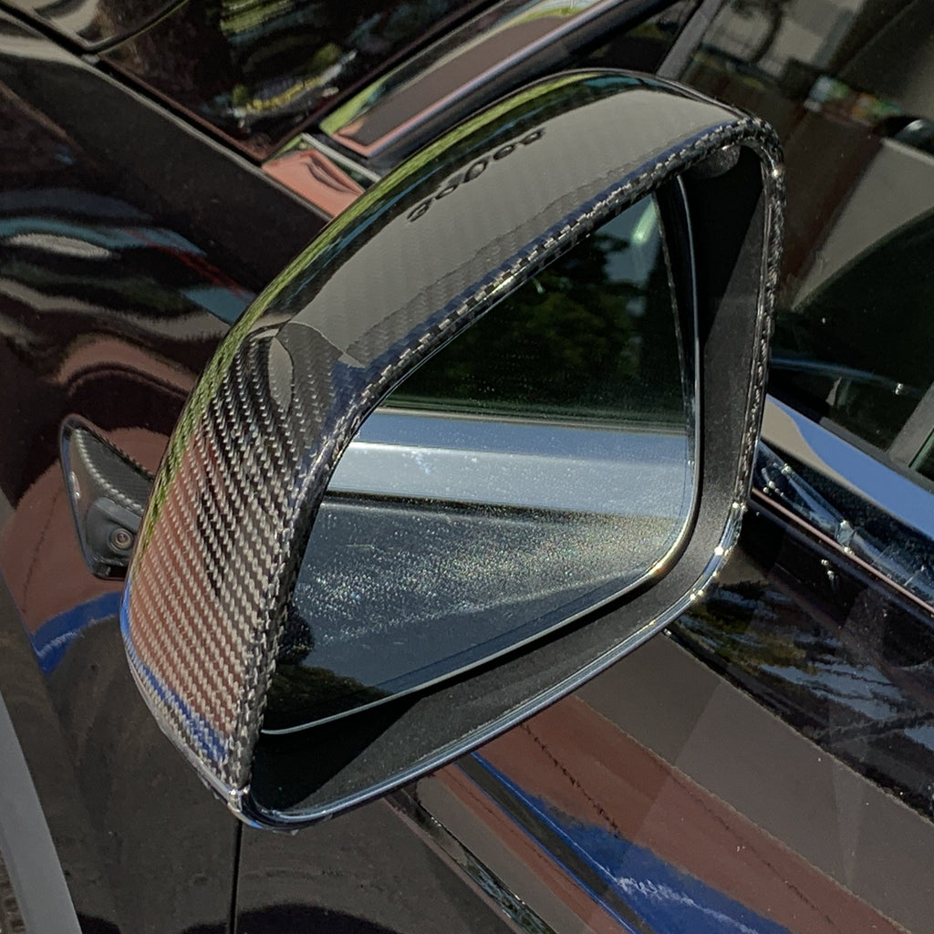 Model X Gen 2. Carbon Fiber Mirror Caps From $139 (1 Pair)