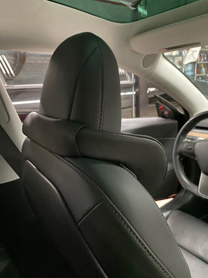 Headrest V-Support- 3 Way Adjustable Fits Model 3, S, & X - (1 pair $89 with 20% Off)