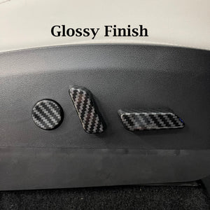 Model 3 & Y Carbon Fiber Printed Seat Switch Covers  - $25