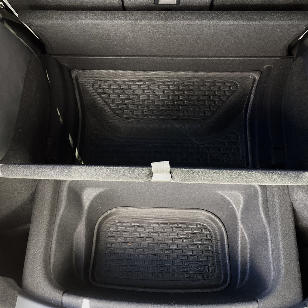 Model Y MAXpider 3D KAGU Sub Trunk Mats (2 Piece Kit) $129