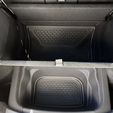 Model 3 & Y Center Console Tray 1/2 Size- Felt Lined - From $20