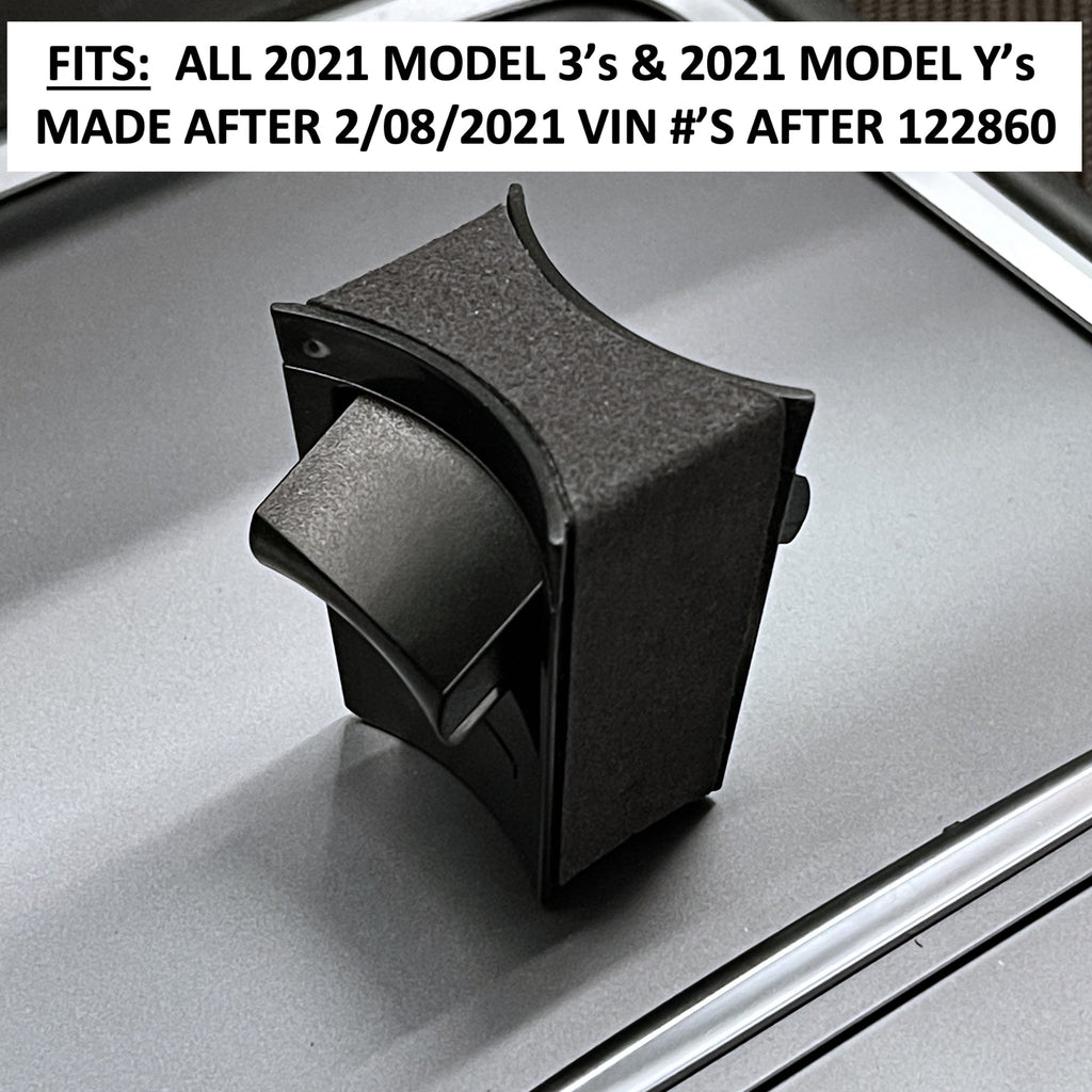 Model 3 2021 & Model Y 2021 Post Jan 2021- Alcantara Cup Holding Stabilizer $19.99