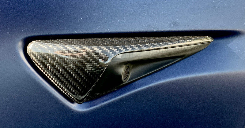 Carbon Fiber Molded Turn Signal Caps, Fits AP2+, $59/ pair with 20% Off