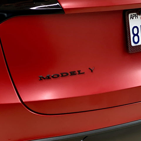 Model 3 Luggage & Rear Bumper 3M Protection Film