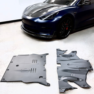TESLA Model 3 - Axle Sound Dampening Skid Plates - From $275