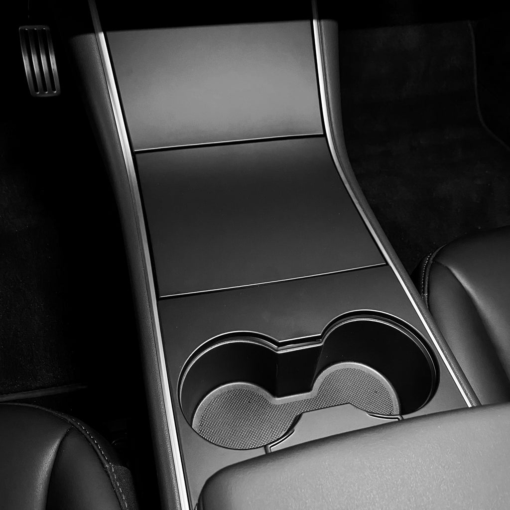 Model 3 Center Console Plastic Cover - Matte Black (4 Piece Gen.2)  - $79