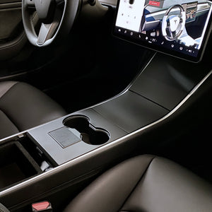 Model 3 & Y Center Console Plastic Cover - Matte Black (4 Piece Gen.2)  - $79