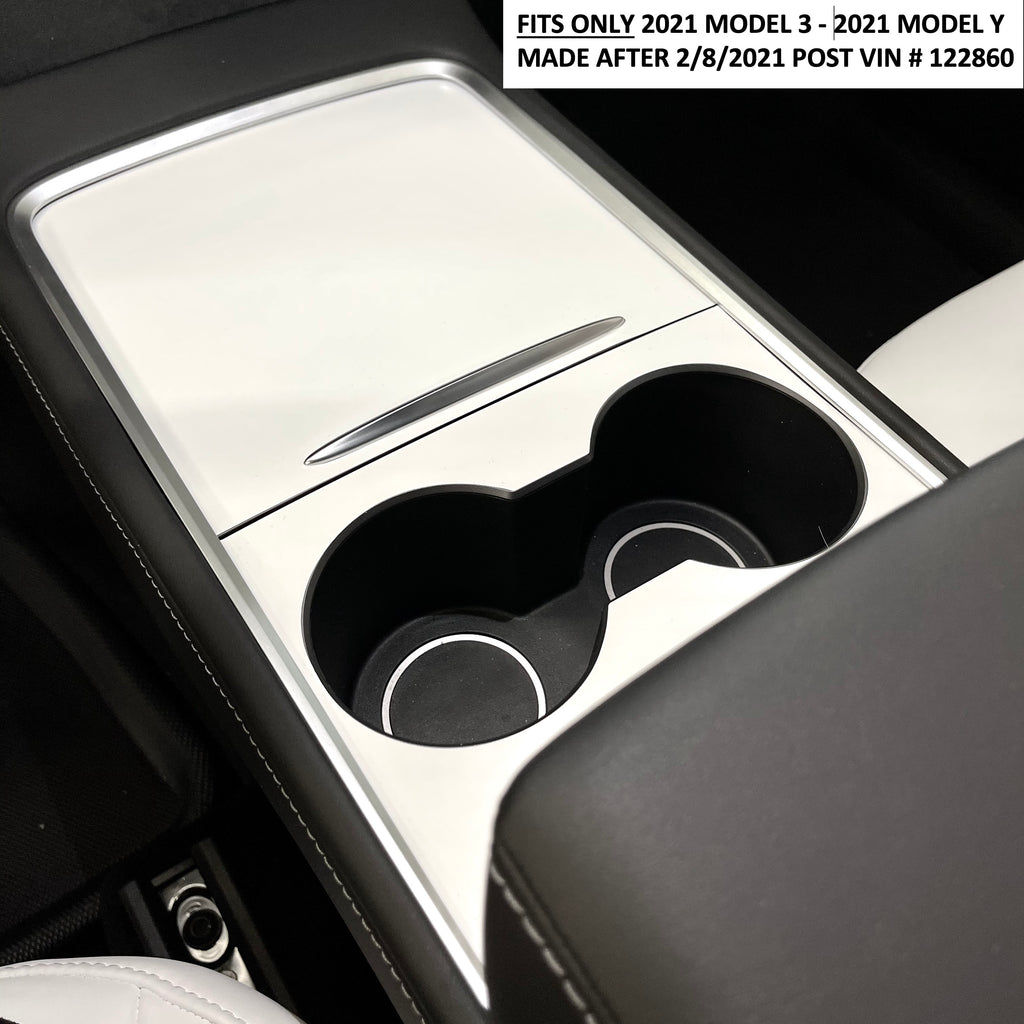 3M Center Console Wraps for All 2021 Model 3,  Y's Made after Feb 8 -  $29