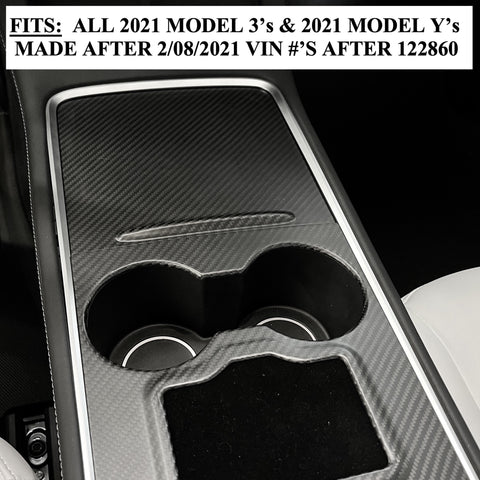 Model 3 & Y Dashboard Cap ABS - Matte White Painted $129