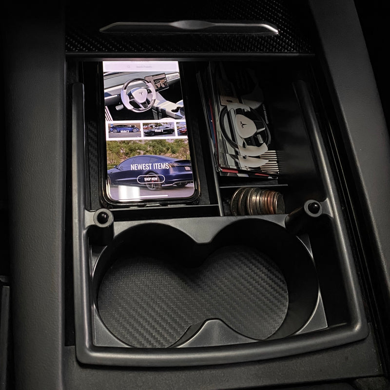 Model S & X Center Console Tray Cupholder Gen.2 - $32 with 20% Off