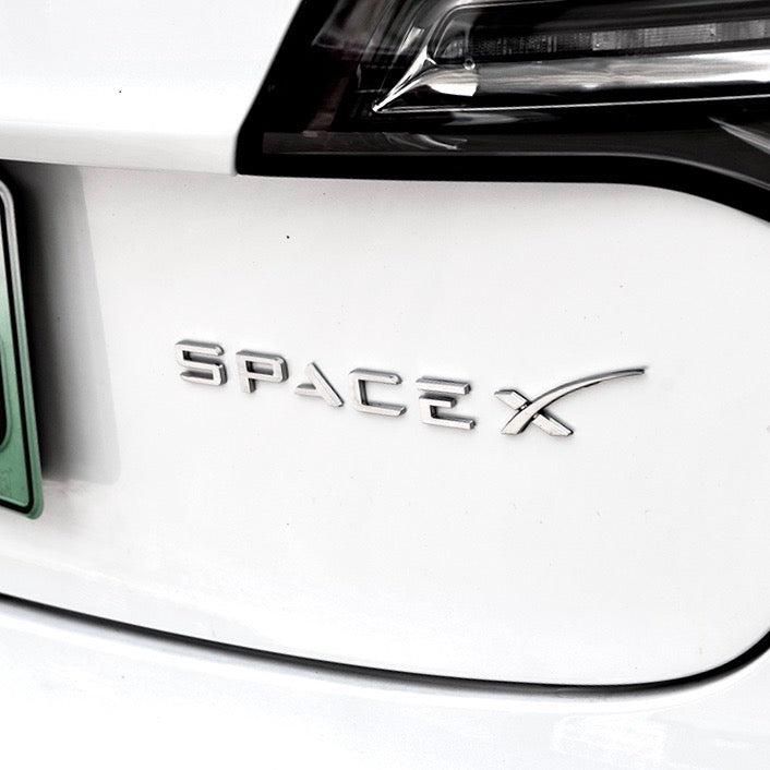 SPACE X Trunk Emblem & NASA Decal - From $18 with 20% OFF