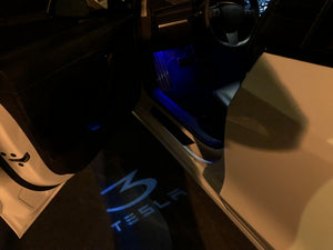 Model 3 Ambient Colored LED Lighting Upgrade Kit (Only $55 with 20% off)