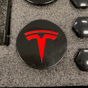 Model 3 , Y, & S - Center Caps & Lug Nut Covers - $29 with 20% Off