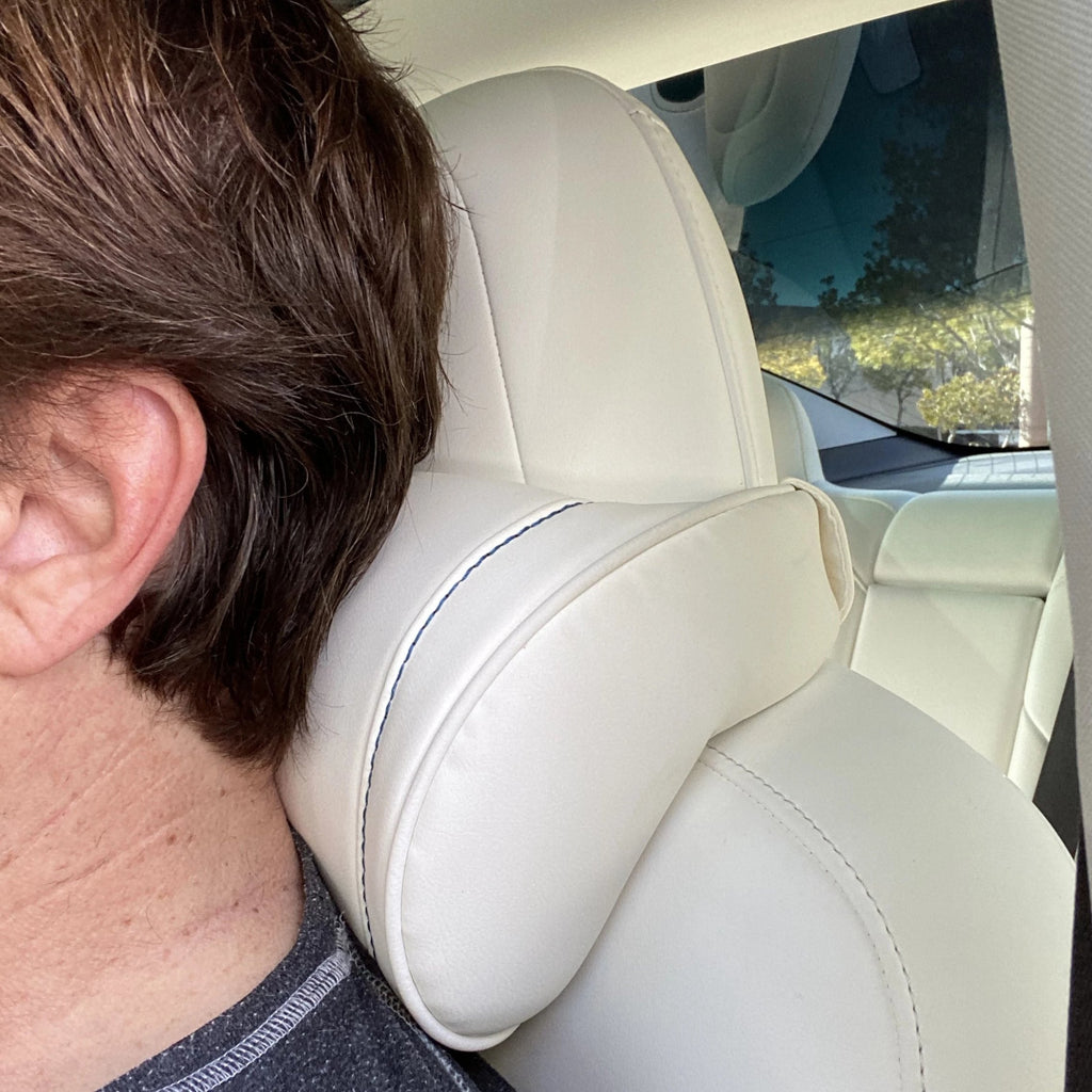 TESLA V-Support Headrests Gen. 2 - Fits Model 3, S, X, & Y-$89 per pair with 20% off