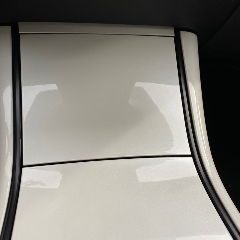 Model 3 & Y Center Console Plastic Cover - White Pearl (4 Piece Gen.2) - $79